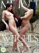 Xeniya B & Zhenya B in Friendly Witches gallery from METART by Max Stan
