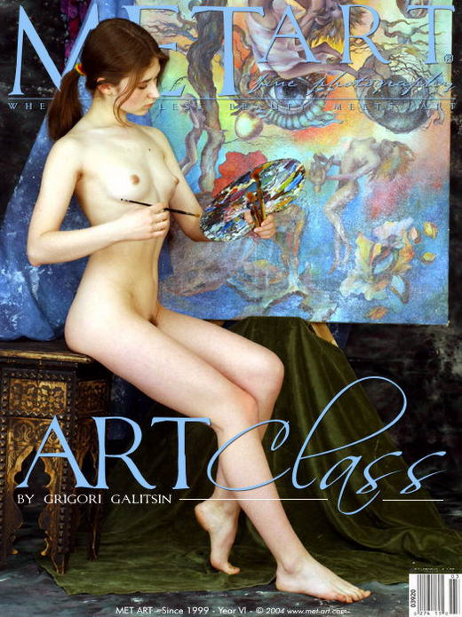 Olesia - `Art Class` - by Galitsin for METART