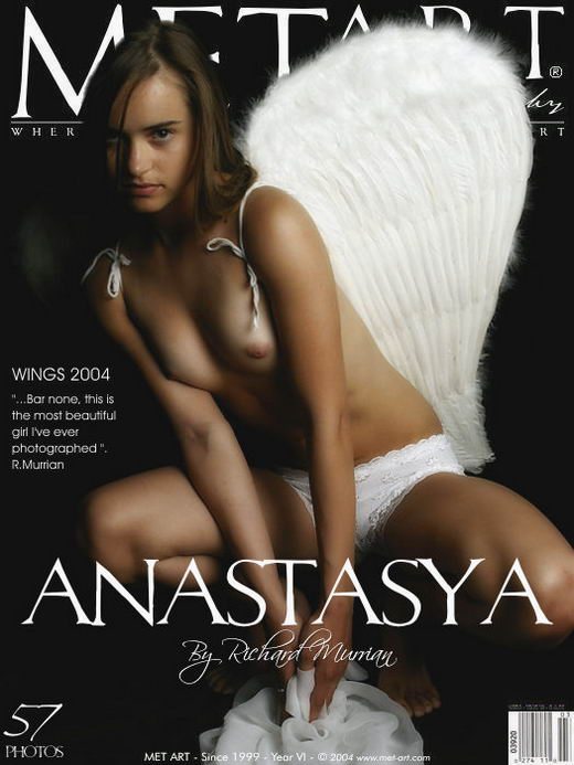 Anastasya A - `Wings 2004` - by Richard Murrian for METART