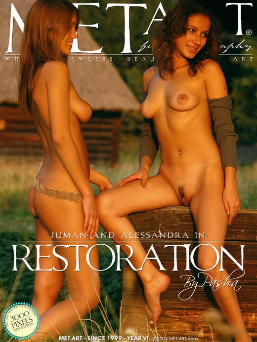 Alessandra D & Juman - `Restoration` - by Pasha for METART