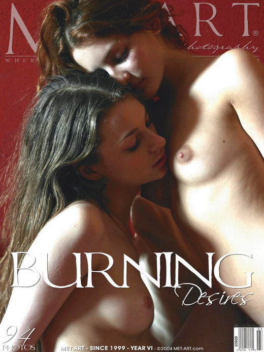 Vika AC and Inna Q - `Burning Desires` - by Ashelon for METART