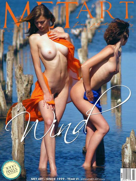 Vika R - `Wind` - by Goncharov for METART