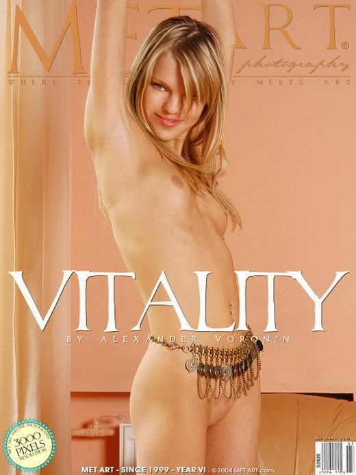 Katya - `Vitality` - by Alexander Voronin for METART