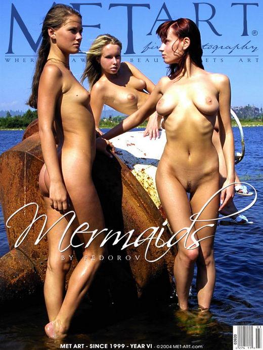 Koika & Ashanti & Julia F - `Mermaids` - by Alexander Fedorov for METART