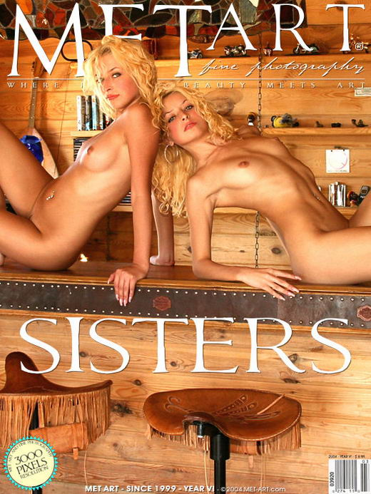 Olga B + Oxana - `Sisters` - by Chepurnoy for METART