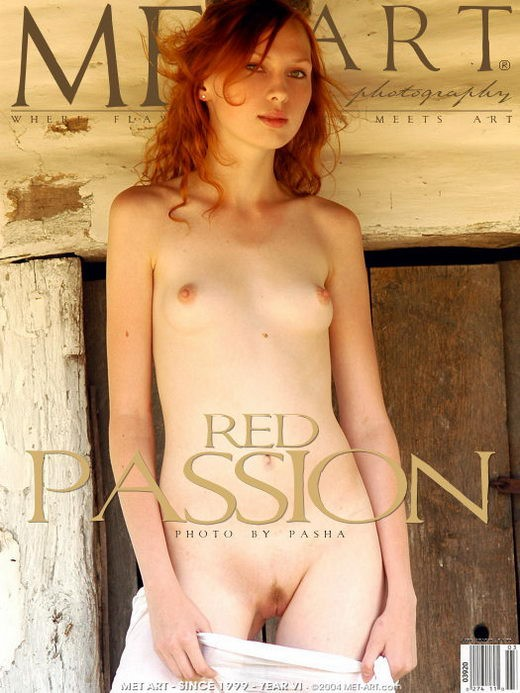 Katya B - `Red Passion 2` - by Pasha for METART