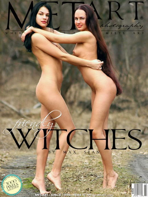 Zhenya B & Xeniya B - `Friendly Witches 2` - by Max Stan for METART