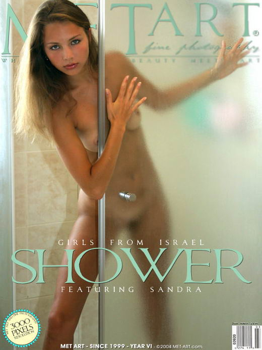 Sandra B - `Shower` - by Genik for METART