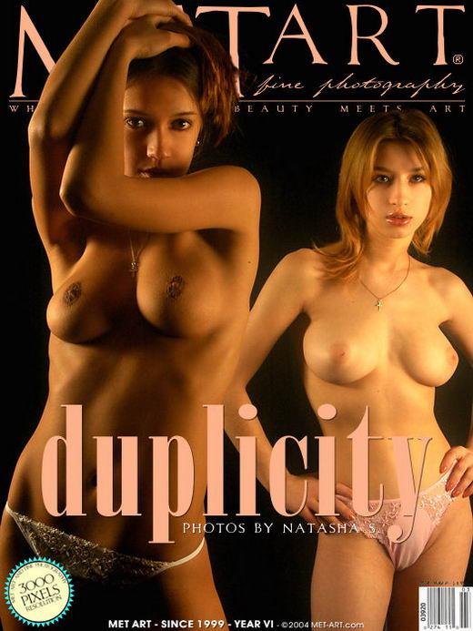 Alessandra D & Sarah B - `Duplicity` - by Natasha Schon for METART