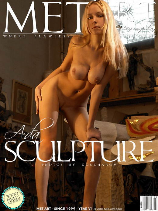 Ada A - `Sculpture` - by Goncharov for METART