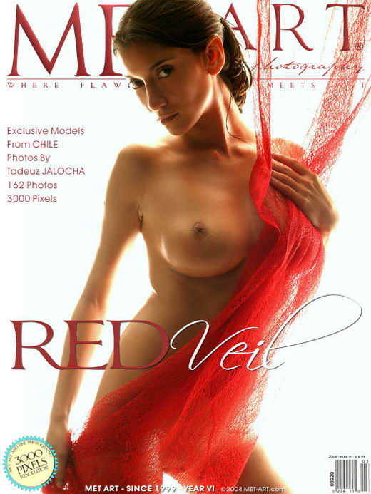 Sharina - `Red Veil` - by Jalocha for METART