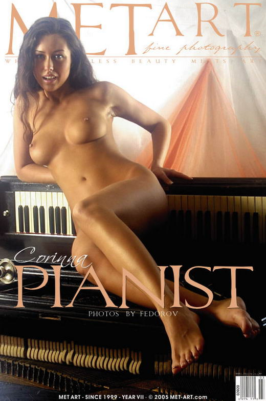 Corinna - `Pianist` - by Alexander Fedorov for METART