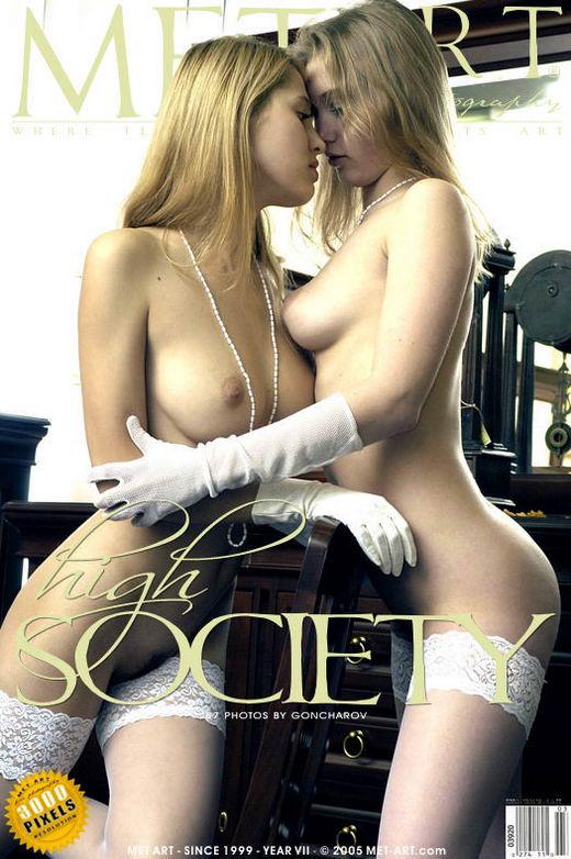 Samosa & Olya K - `High Society` - by Goncharov for METART