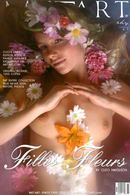 Filles Fleurs 1 gallery from METART by Cleo Nikolson