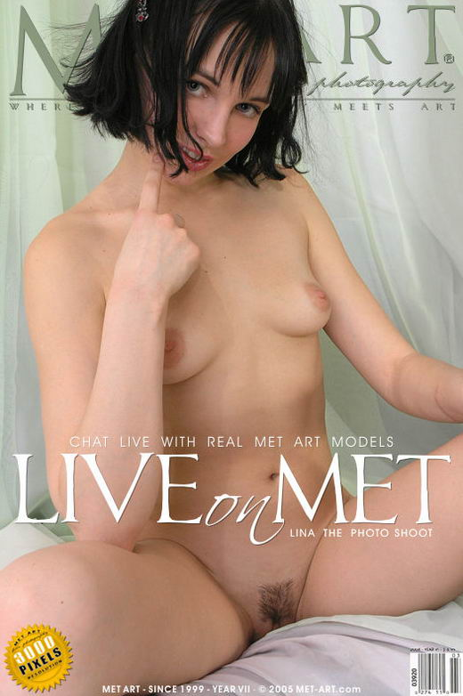 Lina A - `Lina Live On Met Art` - for METART