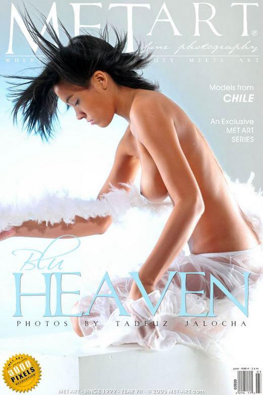 Alely A - `Blu Heaven` - by Jalocha for METART