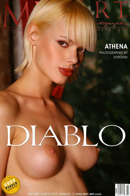 Athena - `Diablo` - by Voronin for METART