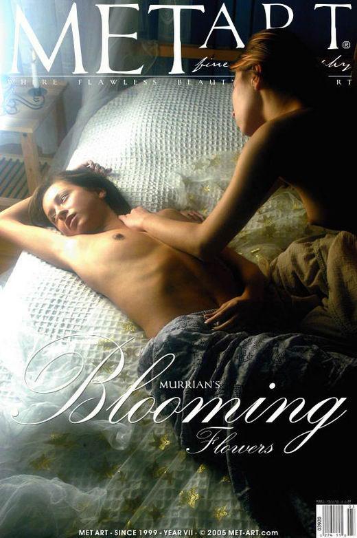 Barbora & Yana A - `Blooming Flowers 4` - by Richard Murrian for METART