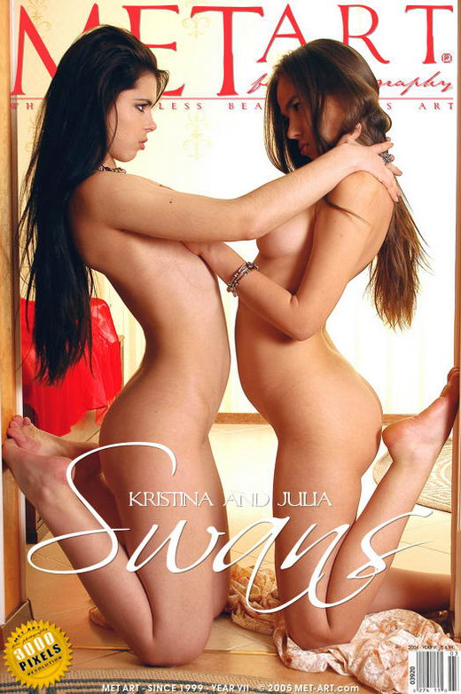 Kristina A & Julia Ae - `Swans` - by Skokov for METART