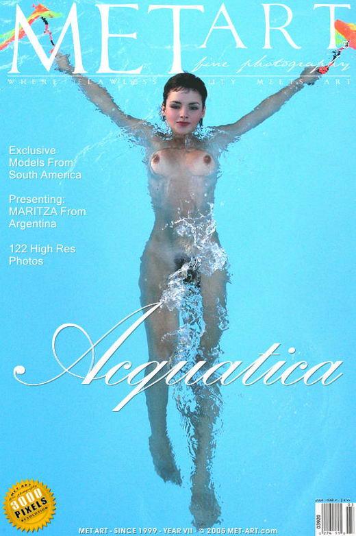 Maritza - `Acquatica` - by Walter Bosque for METART