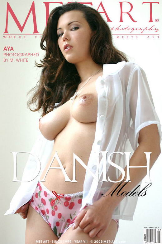 Aya - `Danish Models` - by Michael White for METART
