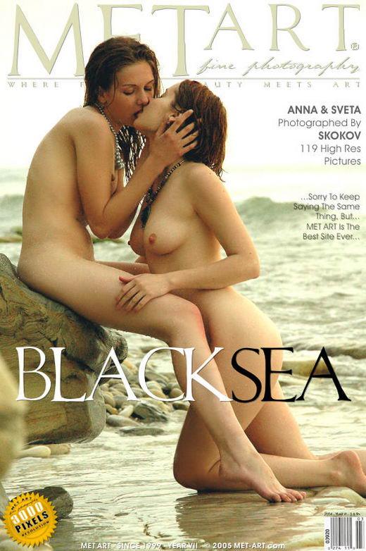 Eva F & Anna C - `Black Sea` - by Skokov for METART