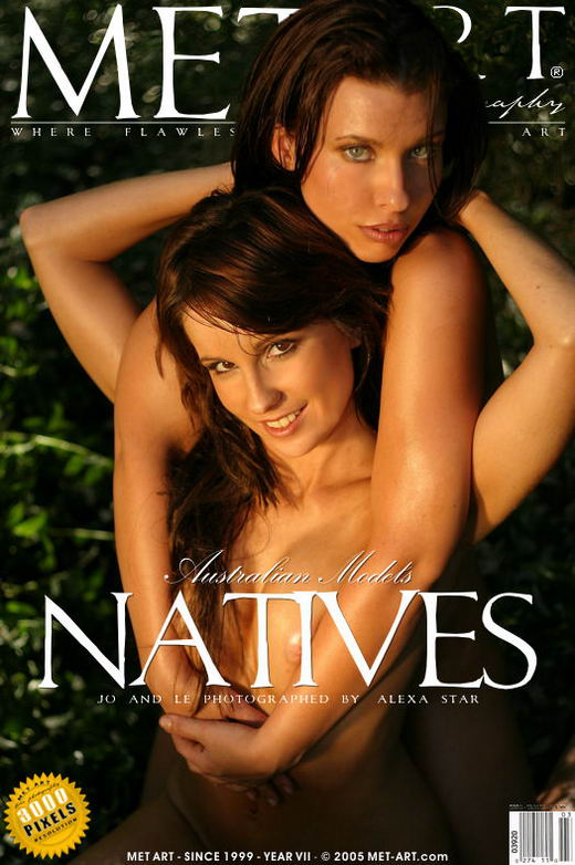 Joanne & Leanne - `Natives` - by Alexa Star for METART