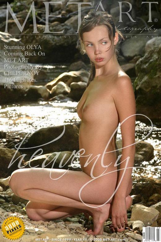 Olya in Heavenly gallery from METART by Chepurnoy