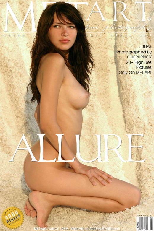 Yuliya - `Allure` - by Chepurnoy for METART