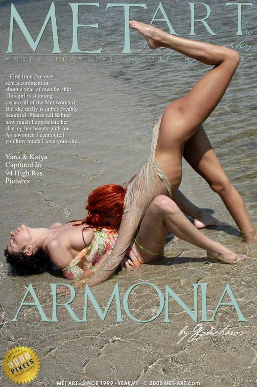Yana N & Katya L - `Armonia` - by Goncharov for METART