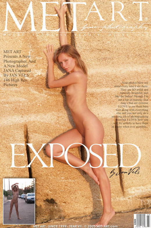 Jana D - `Exposed` - by Jan Vels for METART