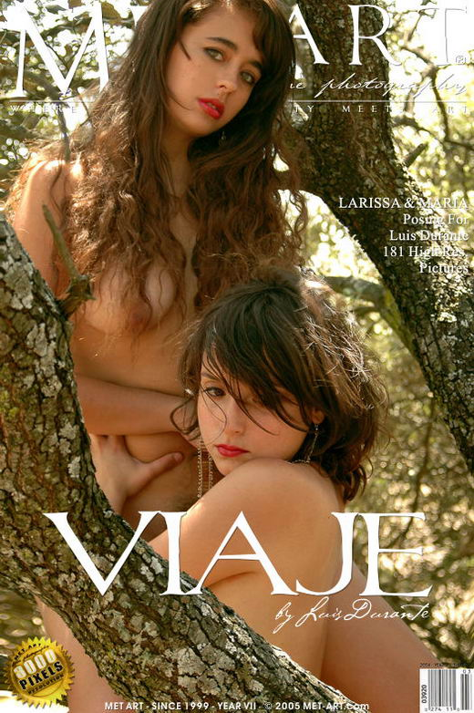 Larissa & Maria F - `Viaje` - by Luis Durante for METART