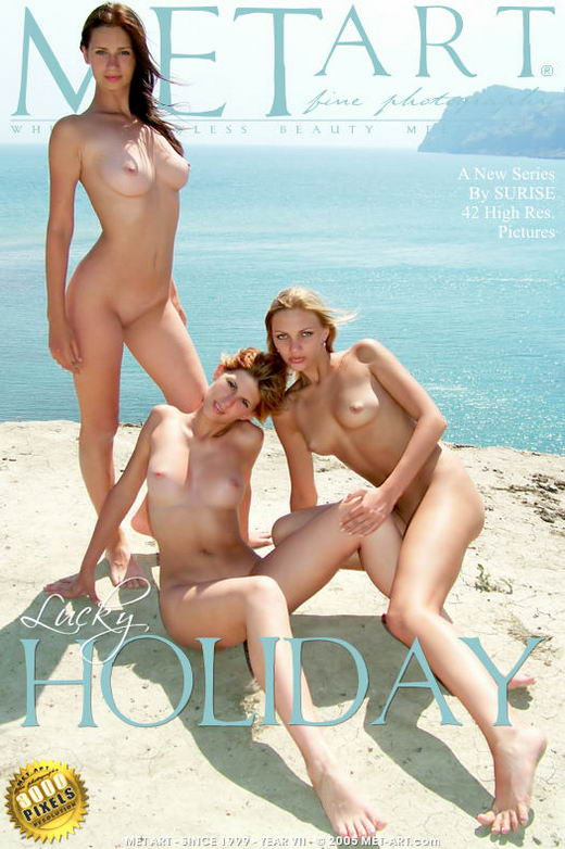Anna B & Katya K & Masha B - `Lucky Holiday` - by Sunrise for METART