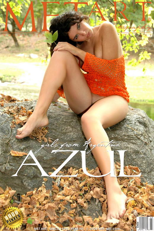 Azul - `Girls From Argentina Azul` - by Walter Bosque for METART