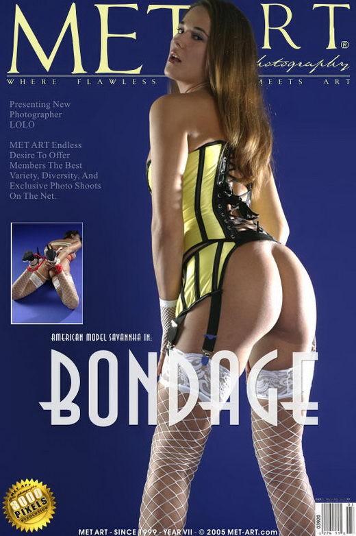 Savannha - `Bondage` - by Lolo for METART