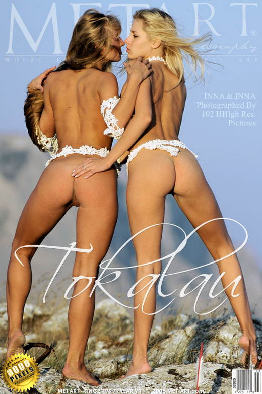 Inna A & Alla B - `Tokalau` - by Goncharov for METART