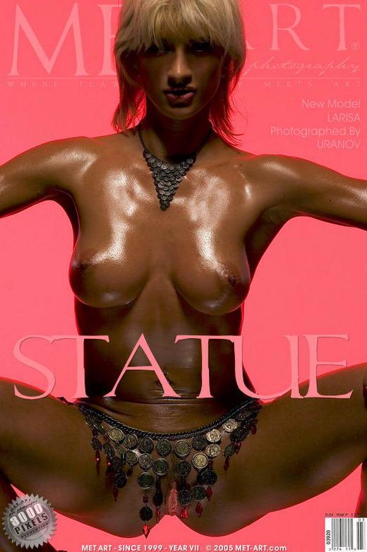 Larisa - `Statue` - by Uranov for METART