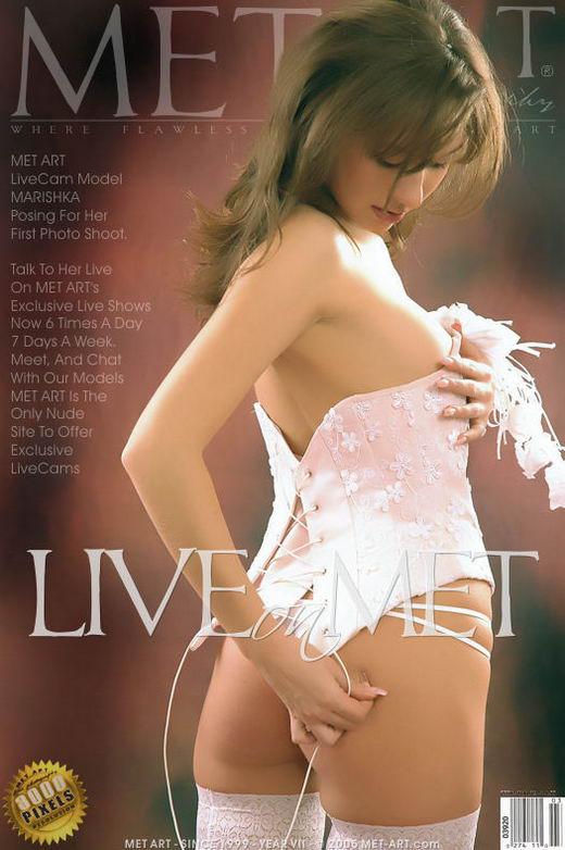 Marishka - `Marishka Live On Met` - for METART