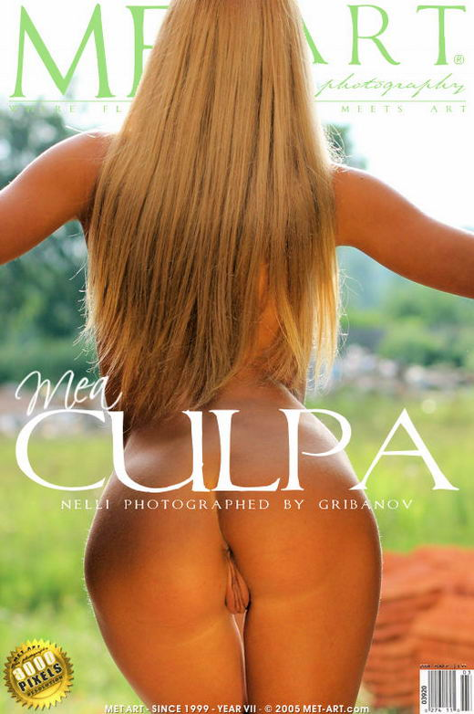 Nelli - `Mea Culpa` - by Gribanov for METART