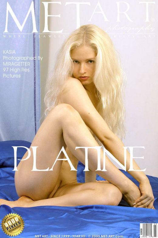 Kasia - `Platine` - by Miragette for METART
