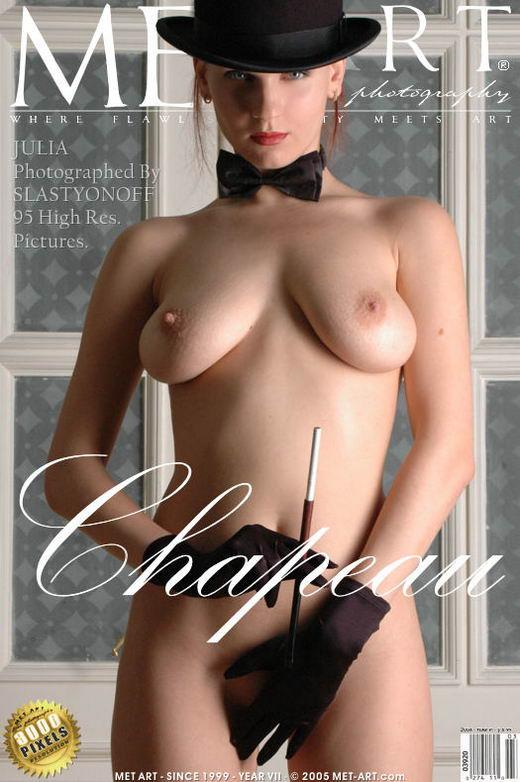 Julia F - `Chapeau` - by Slastyonoff for METART