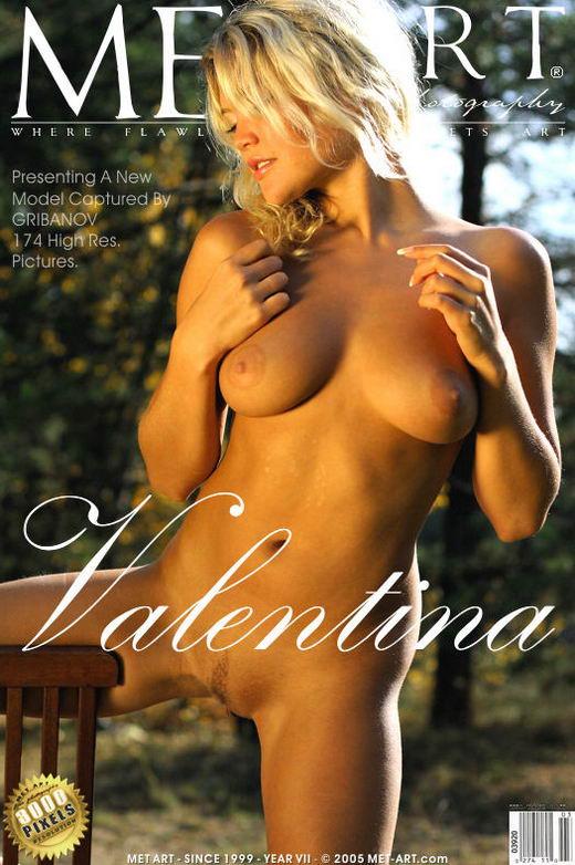 Valentina A - `Presenting Valentina` - by Gribanov for METART