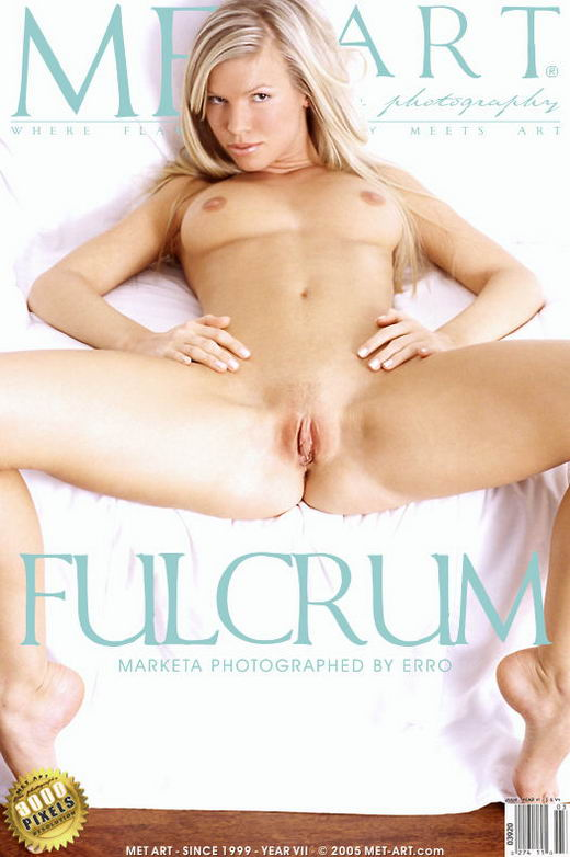 Marketa B - `Fulcrum` - by Erro for METART