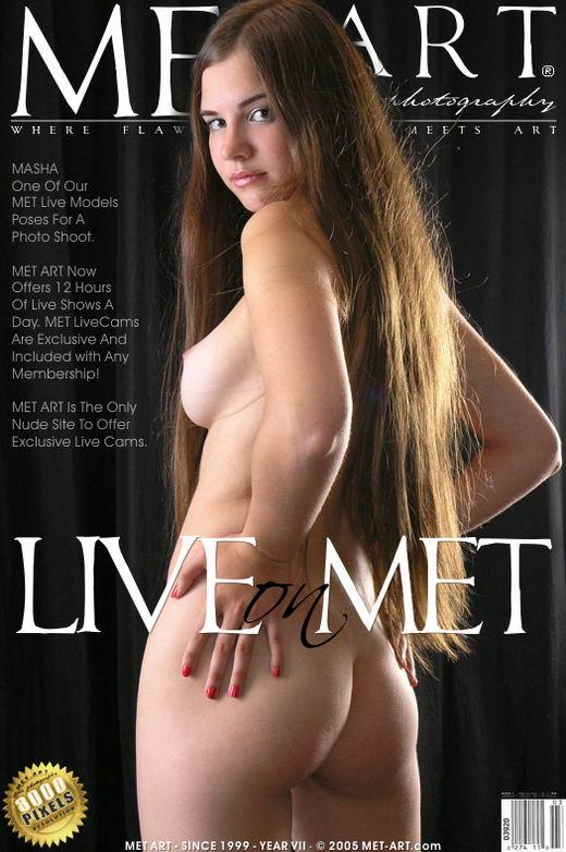 Masha G - `Live On Met` - for METART