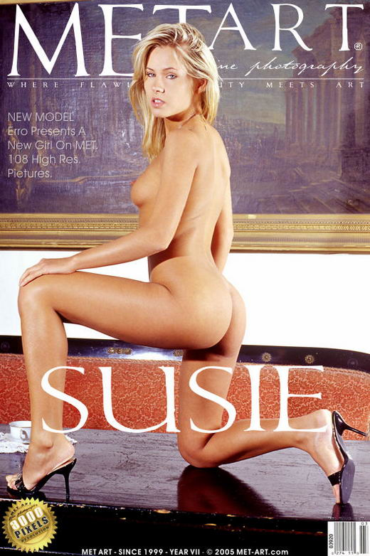 Zusie - `Presenting Susie` - by Erro for METART