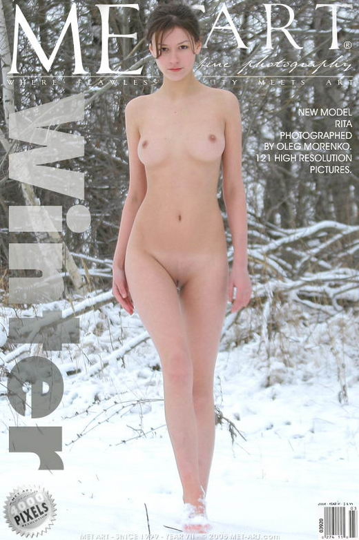 Rita A - `Winter` - by Oleg Morenko for METART