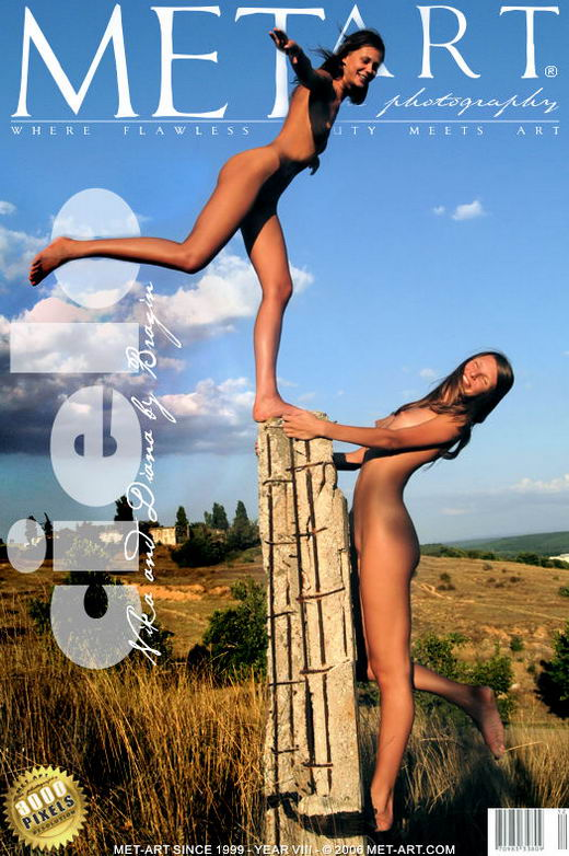 Diana & Nika B - `Cielo` - by Bragin for METART