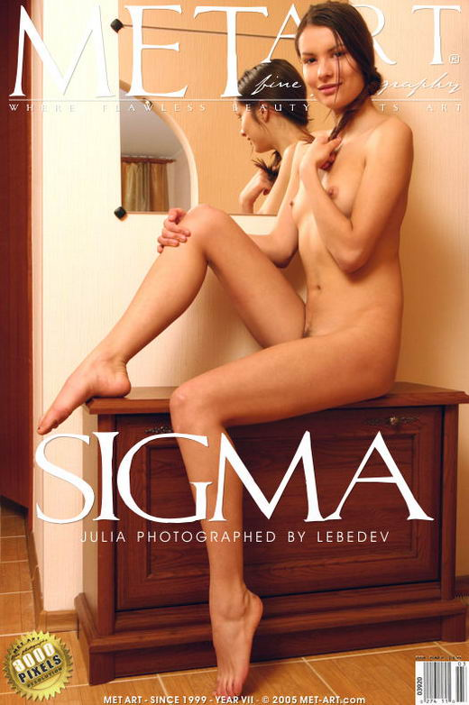 Julia Ac - `Sigma` - by Lebedev for METART