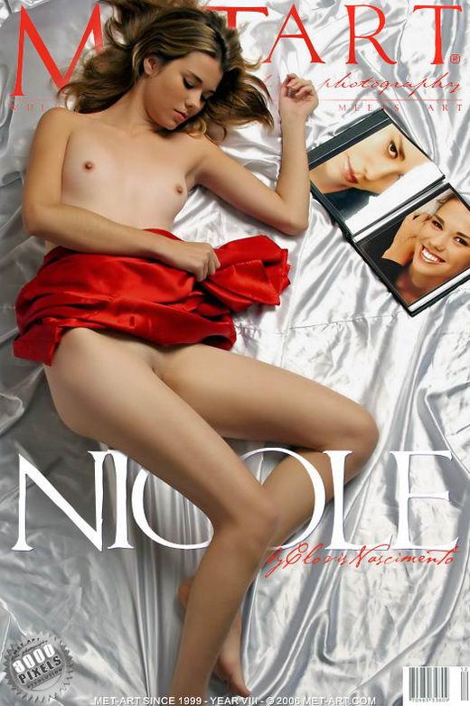Nicole E - `Presenting Nicole` - by Clovis Nascimento for METART