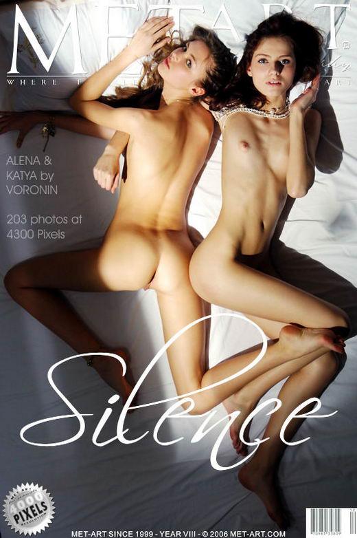 Alena I & Katya Ab - `Silence` - by Voronin for METART